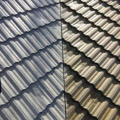 Metal Tile Roof Cleaning Everett