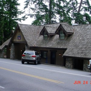 Cedar Shake Roof Cleaning at the Oyster Bar in Bow, Washington