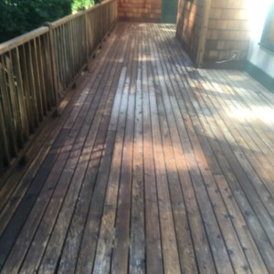 Anacortes Deck Cleaning